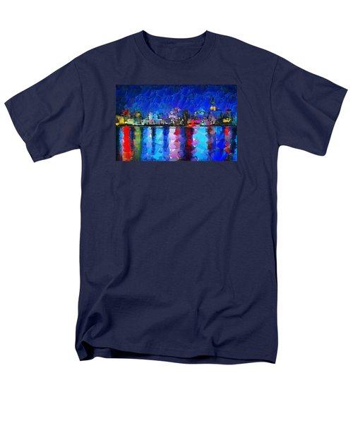 City Limits Tokyo Men's T-Shirt  (Regular Fit) by Sir Josef - Social Critic - ART