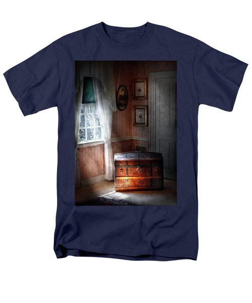 Furniture - Bedroom - Family Secrets T-Shirt by Mike Savad