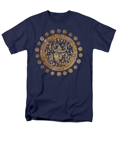 Garuda's Golden Victory - Color Edition Men's T-Shirt  (Regular Fit) by David Ardil