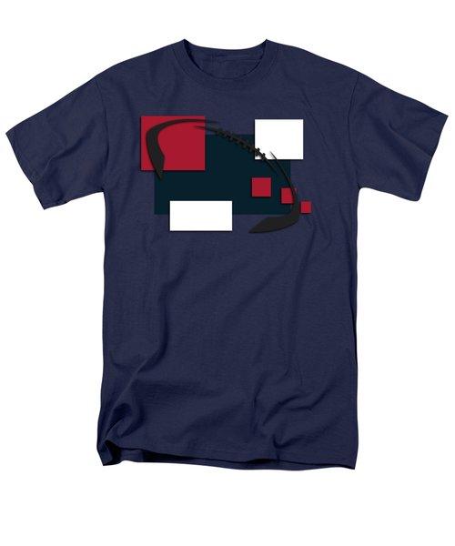 Houston Texans Abstract Shirt Men's T-Shirt  (Regular Fit) by Joe Hamilton