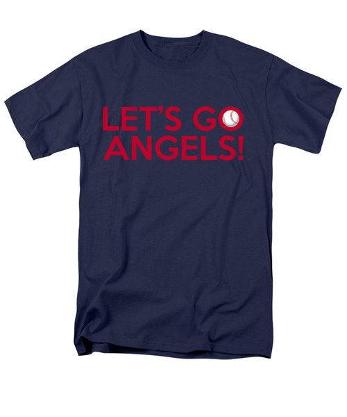 Let's Go Angels Men's T-Shirt  (Regular Fit) by Florian Rodarte