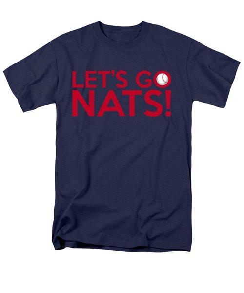 Let's Go Nats Men's T-Shirt  (Regular Fit) by Florian Rodarte