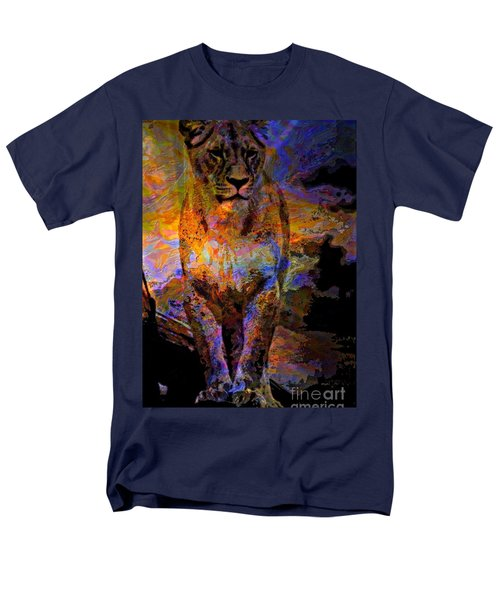 Lion On The Mesa T-Shirt by WBK