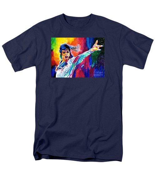 Michael Jackson Force Men's T-Shirt  (Regular Fit) by David Lloyd Glover