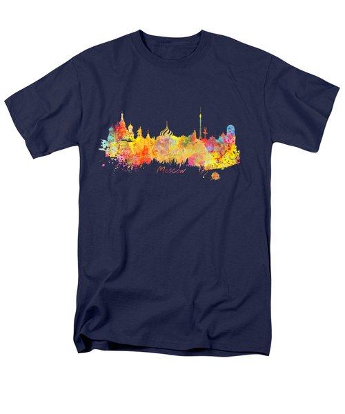 Moscow Skyline  Men's T-Shirt  (Regular Fit) by Justyna JBJart