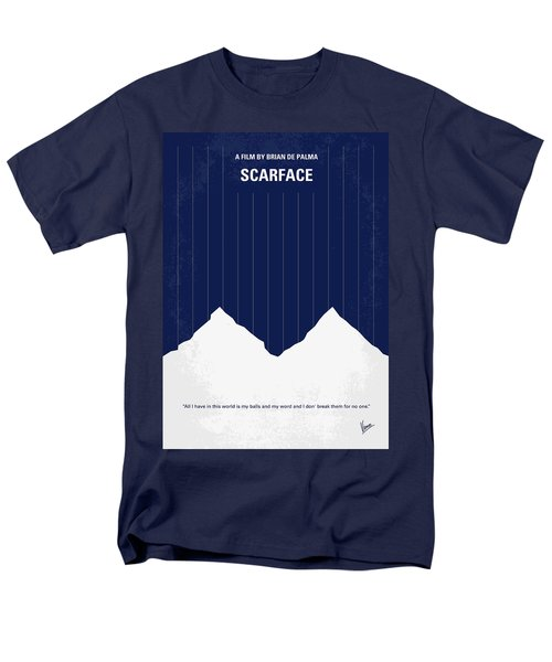 No158 My SCARFACE minimal movie poster T-Shirt by Chungkong Art