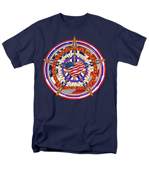 Patriotic For You America Where It Loud And Proud Men's T-Shirt  (Regular Fit) by Bill Campitelle