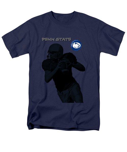 Penn State Football Men's T-Shirt  (Regular Fit) by David Dehner