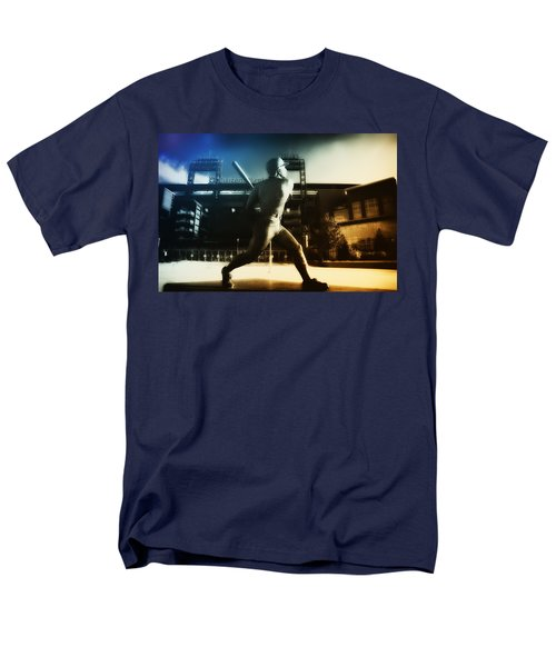 Philadelphia Phillie Mike Schmidt T-Shirt by Bill Cannon