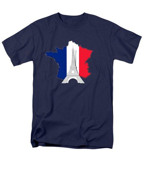 Pray For Paris Men's T-Shirt  (Regular Fit) by Bedros Awak
