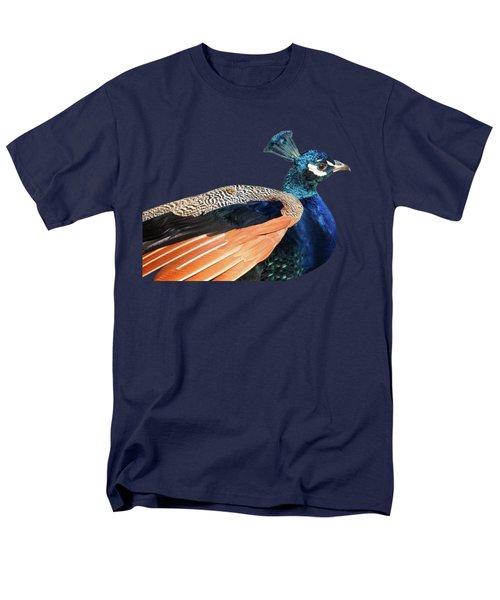 Proud Peacock Men's T-Shirt  (Regular Fit) by Gill Billington
