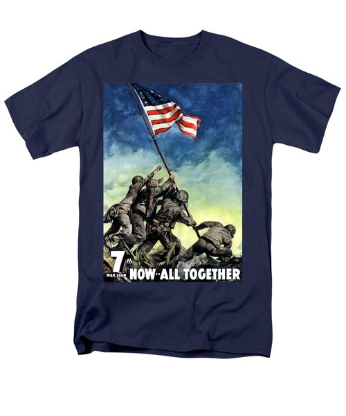 Raising The Flag On Iwo Jima T-Shirt by War Is Hell Store