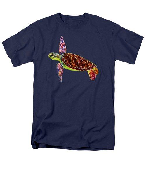 Sea Turtle Men's T-Shirt  (Regular Fit) by Hailey E Herrera