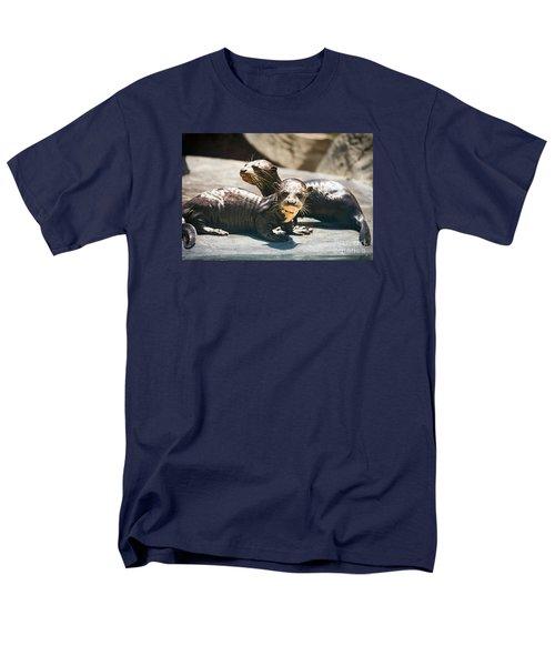 Siblings Men's T-Shirt  (Regular Fit) by Jamie Pham