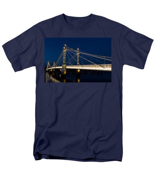 The Albert Bridge London T-Shirt by David Pyatt
