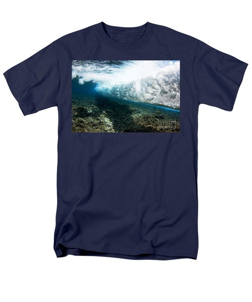 Tropical Wave Curl T-Shirt by Dave Fleetham - Printscapes