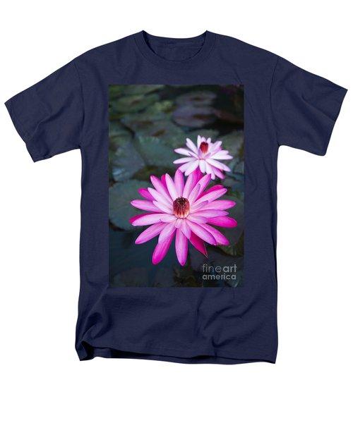 Vibrant Waterlilies T-Shirt by Dana Edmunds - Printscapes