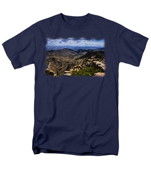 Windy Point No.11 Men's T-Shirt  (Regular Fit) by Mark Myhaver