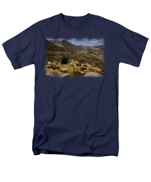Windy Point No.5 Men's T-Shirt  (Regular Fit) by Mark Myhaver