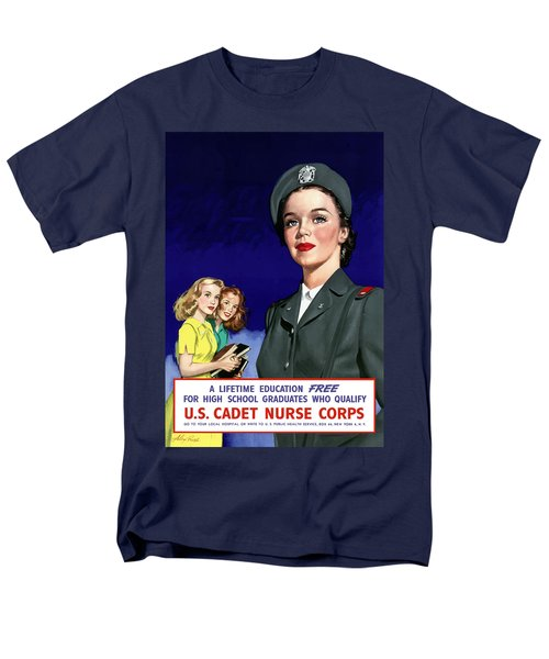 WW2 US Cadet Nurse Corps T-Shirt by War Is Hell Store