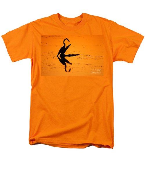 Anhinga Men's T-Shirt  (Regular Fit) by Art Wolfe
