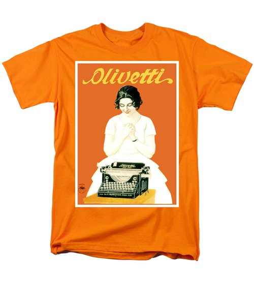 1924 - Olivetti Typewriter Advertisement Poster - Color T-Shirt by John Madison