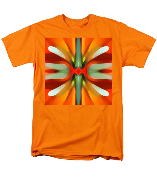 Abstract Red Tree Symmetry T-Shirt by Amy Vangsgard