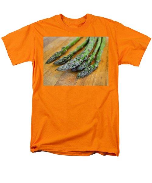 Asparagus Men's T-Shirt  (Regular Fit) by Michelle Calkins