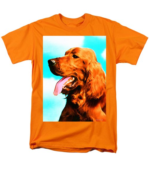 Big Red - Irish Setter Dog Art By Sharon Cummings T-Shirt by Sharon Cummings