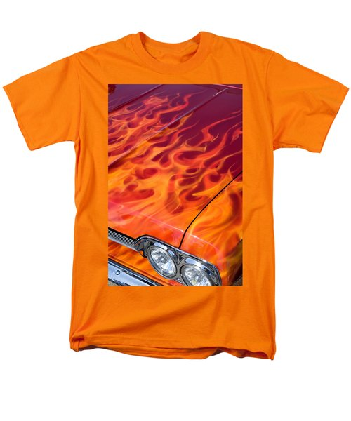 Chevy Flames T-Shirt by Peter Tellone