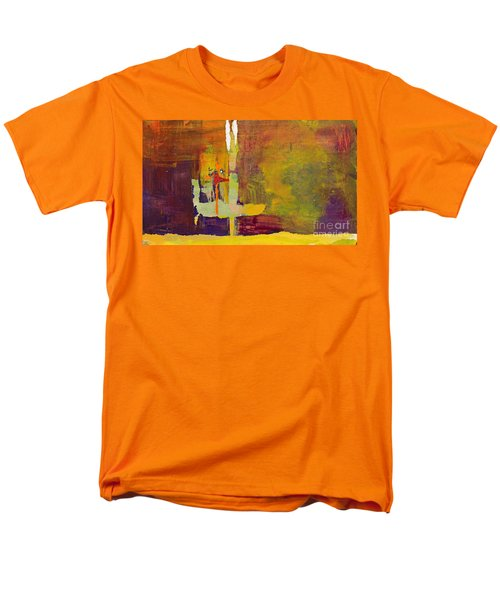 Crossing Over T-Shirt by Pat Saunders-White