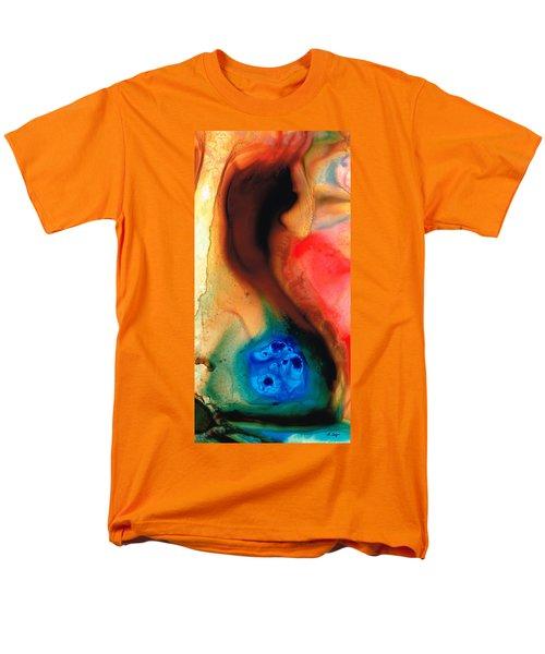 Dark Swan - Abstract Art By Sharon Cummings T-Shirt by Sharon Cummings