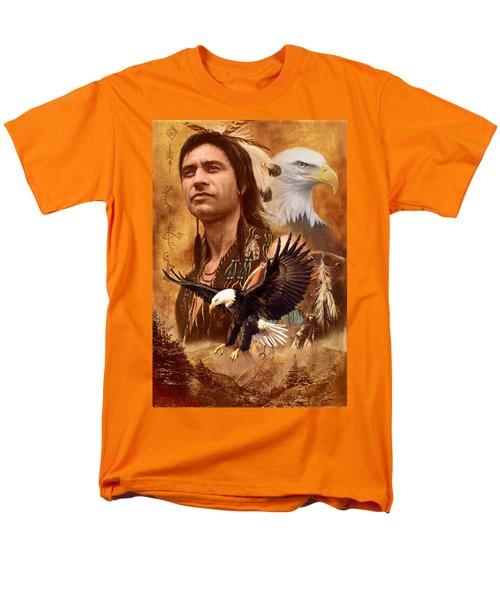 Eagle Montage T-Shirt by Garry Walton