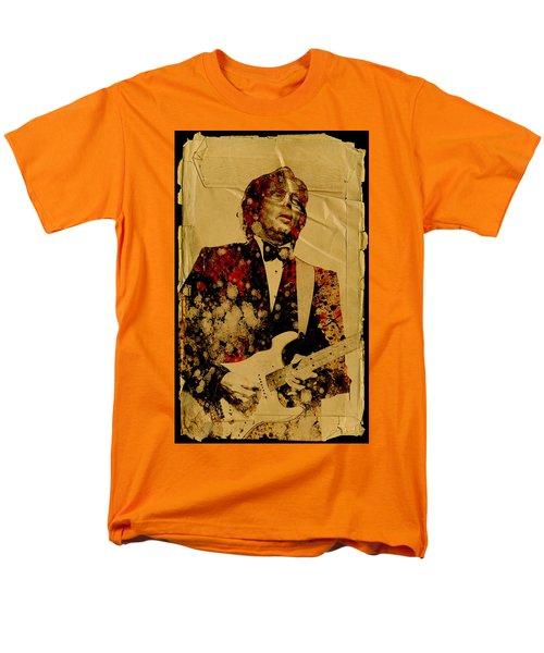 Eric Clapton 2 Men's T-Shirt  (Regular Fit) by Bekim Art