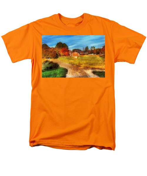 Farm - Barn -  A walk in the country T-Shirt by Mike Savad