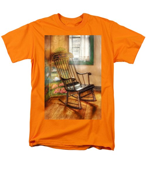 Furniture - Chair - The rocking chair T-Shirt by Mike Savad