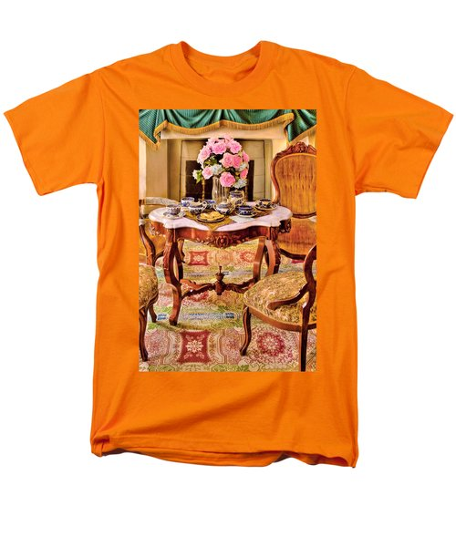 Furniture - Chair - The Tea Party T-Shirt by Mike Savad