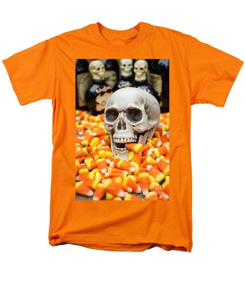 Halloween Candy Corn T-Shirt by Edward Fielding