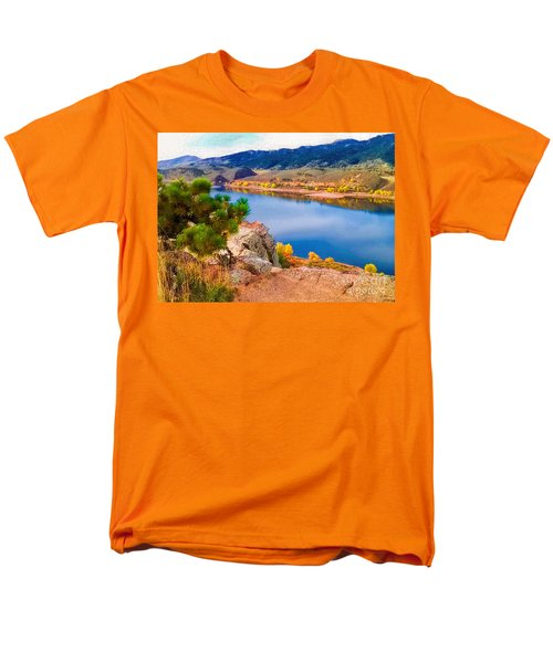 Horsetooth Lake Overlook T-Shirt by Jon Burch Photography