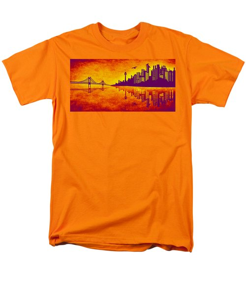 It Was Us That Scorched The Sky T-Shirt by Angelina Vick