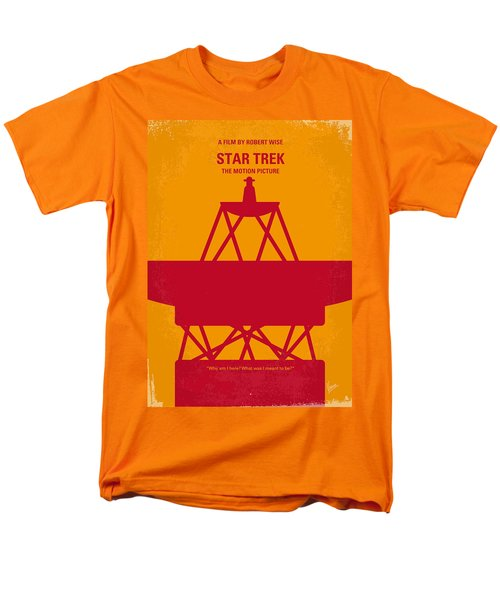 No081 My Star Trek 1 minimal movie poster T-Shirt by Chungkong Art