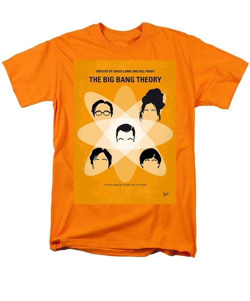 No196 My The Big Bang Theory minimal poster T-Shirt by Chungkong Art