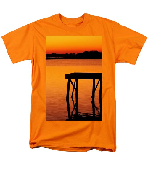 Ripples of Copper T-Shirt by KAREN WILES