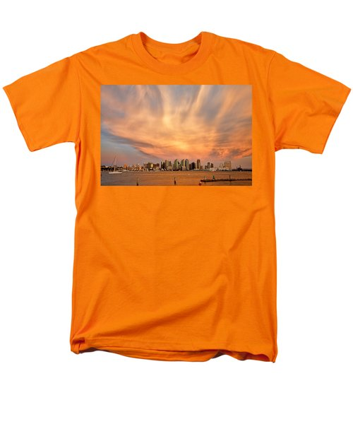 San Diego Cloud Burst T-Shirt by Peter Tellone
