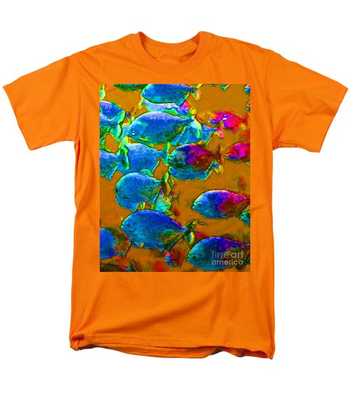 School of Piranha v1 T-Shirt by Wingsdomain Art and Photography