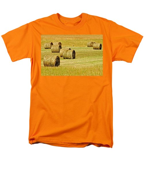 Smoky Mountain Hay T-Shirt by Frozen in Time Fine Art Photography