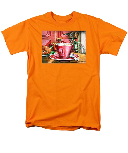 Still life with green Dutch bike T-Shirt by Mark Howard Jones