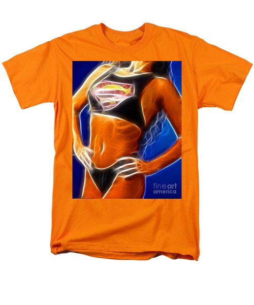 Superman 1 Fractal T-Shirt by Gary Gingrich Galleries