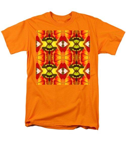 Tropical Leaf Pattern 7 T-Shirt by Amy Vangsgard
