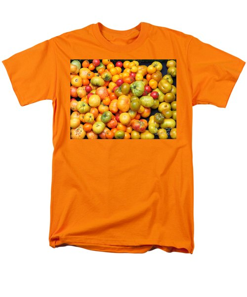 A Variety of Fresh Tomatoes - 5D17904 T-Shirt by Wingsdomain Art and Photography